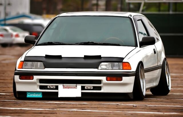 88-91 HONDA CIVIC AND CRX  HOOD BRA NOSE FROND END MASK JDM STYLE EF9 DX SI SIR