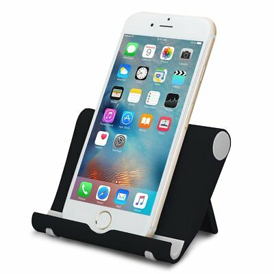 Universal Foldable Cell Phone Desk Stand Holder Mount Cradle For Phone Tablet