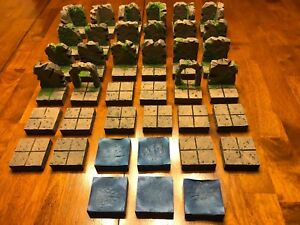 Details about Dungeon Big Cave Modular Tile Set 28mm Dungeons & Dragons  Pathfinder Terrain d&d