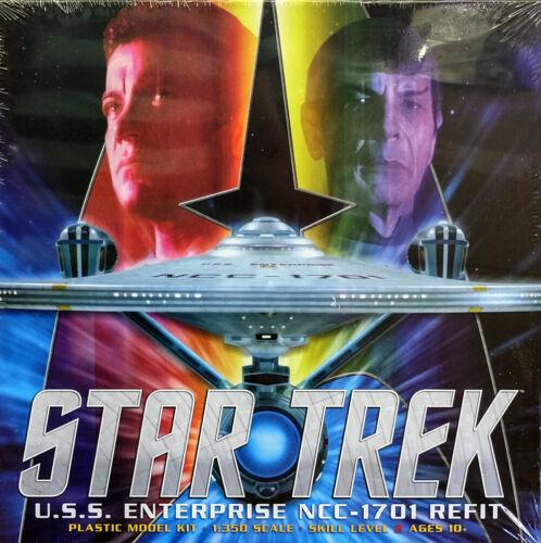Star Trek U.S.S Enterprise NCC-1701 Refit 1:350 Model Kit Polar Lights POL949