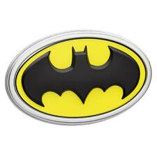 Batman Car Emblem 3d Black Yellow Chrome Dc Comics Automotive Sticker Badge
