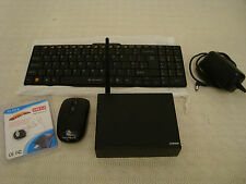 FANLESS QUIET PC INTEL ATOM QUAD CORE CPU WINDOWS 10 2GB RAM 2TB USB FLASH HDMI
