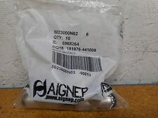AIGNEP 5023000N02 Tee Fittings 6mm Tube Push In New (Bag of 10)