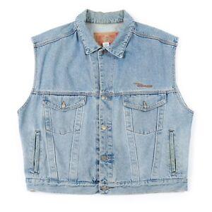 the best exclusive deals sale retailer Details about Vintage DIESEL Sleeveless Denim Jacket | Men's XL | Retro  Jeans Jean Coat Vest