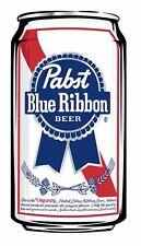 PBR: PABST BLUE RIBBON BEER: Vinyl Sticker 5?x 3? .  BUY 2 Get 1 FREE!