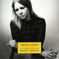 Listen Listen (An Introduction To) [Remaster] by Sandy Denny VG