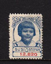 41002/ Reklamemarke - Arthur Jellinek - Znaim - Susi und Stefan - SELTEN
