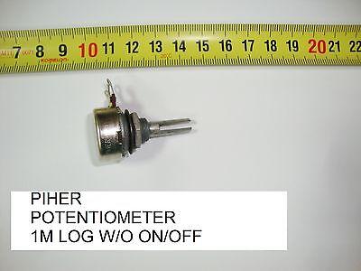 1M LOG C//I W ON//OFF P11 POTENCIOMETRO CARBON PIHER POTENTIOMETER 1M