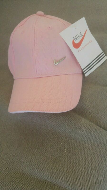 2× Nike Pink Girls Hat 0-36 Months Old