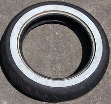 Harley Tire White Wall MT90B16 71H Touring Dunlop Front Quality (U-1808)