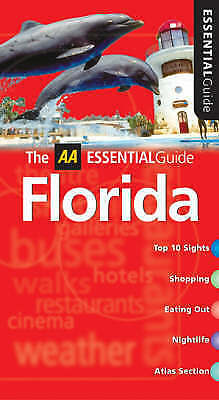 """""""AS NEW"""" Stanford, Emma, AA Essential Florida (AA Essential Guide), Book"""
