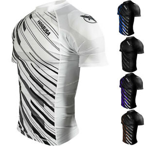 Hayabusa Metaru Charged Short Sleeve MMA Compression Rashguard