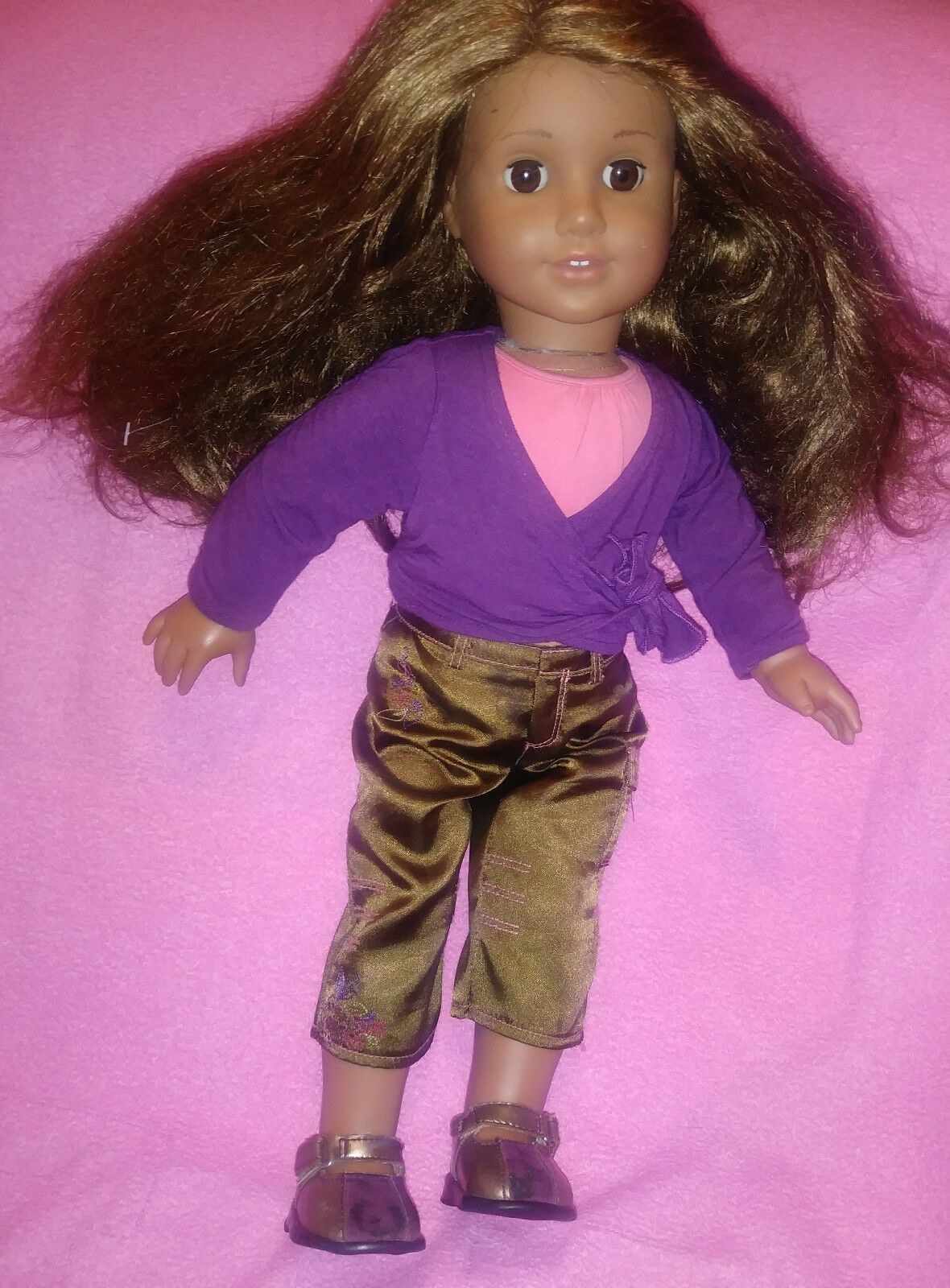 American Girl Marisol Luna 18  Doll braun  Hair braun Eyes Pleasant Latina