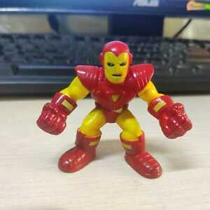 Marvel Super Hero Squad IRON MAN Red Yellow Clenched Fists from Wave 17 MODOK PK