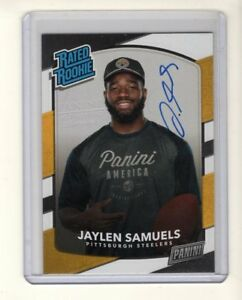 Jaylen-Samuels-2018-Panini-Day-Certified-Rated-Rookie-On-Card-Autograph-PATRIOTS
