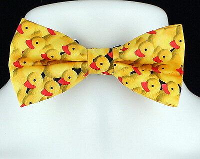 Yellow Rubber Ducky Men/'s Neck Tie Novelty Duck Animal Bird Yellow Necktie