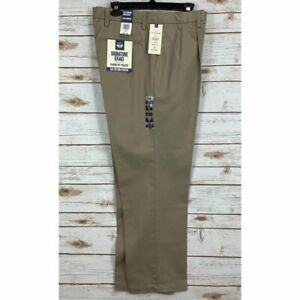 Dockers-Men-039-s-Classic-Fit-Signature-Khaki-Lux-Cotton-Stretch-Pleated-Pants