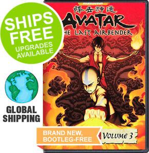 Avatar-Last-Airbender-Book-3-Fire-Volume-3-DVD-2008-NEW-Japanese-Anime