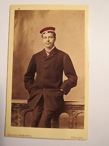 Giessen-Corps-Starkenburgia-um-1881-Hans-Keller-CDV-koloriert-Studentika