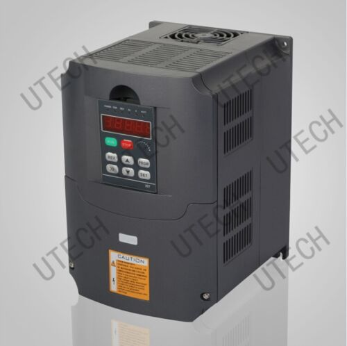 CE//TOP QUALITY 4KW VARIABLE FREQUENCY DRIVE INVERTER CONVERTER VFD NEW 5HP/&220V
