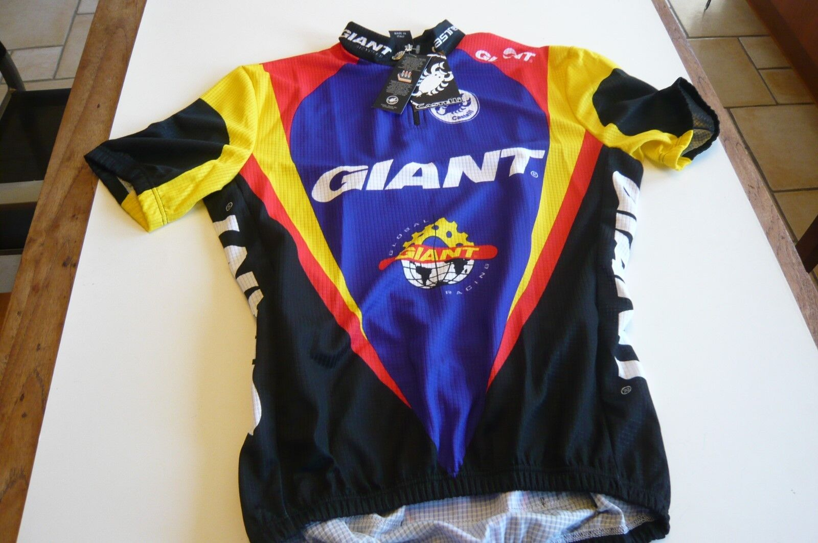 Castelli Giant Jersey spiTECH Size M Made In  New In Bag