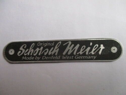 Nameplate Seat Dina Meier Denfeld BMW Motorcycle Cusp S31