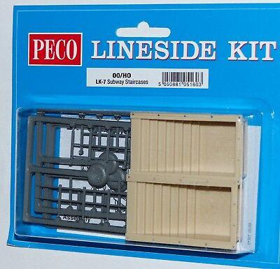 Peco LK-7 Bahnsteigtreppe 2 Stück Bausatz H0 1:87