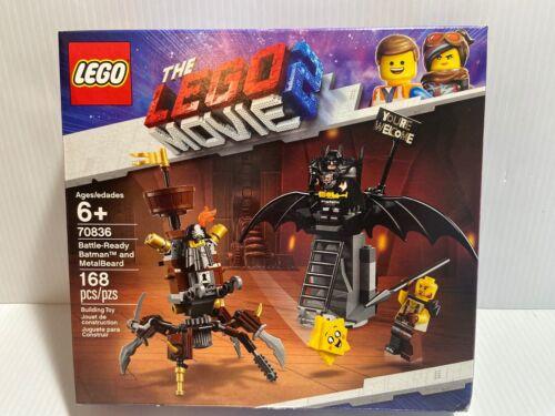 LEGO 70836 Movie 2 Battle-Ready Batman And Metalbeard New