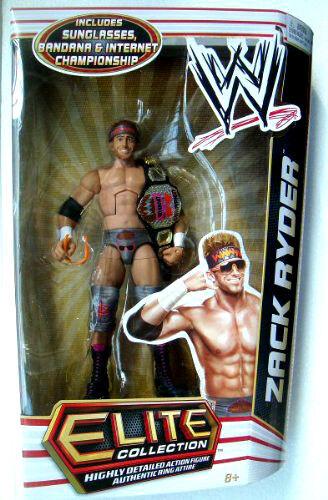 WWE ELITE collezione Series   17_ZACK RYDER 6 cifra with Championship Belt_MIP