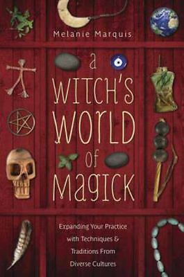 Witch's World of Magick Book ~ Wiccan Pagan Witchcraft Supply