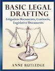 Basic Legal Drafting by Anne Rutledge Book Paperback Softback