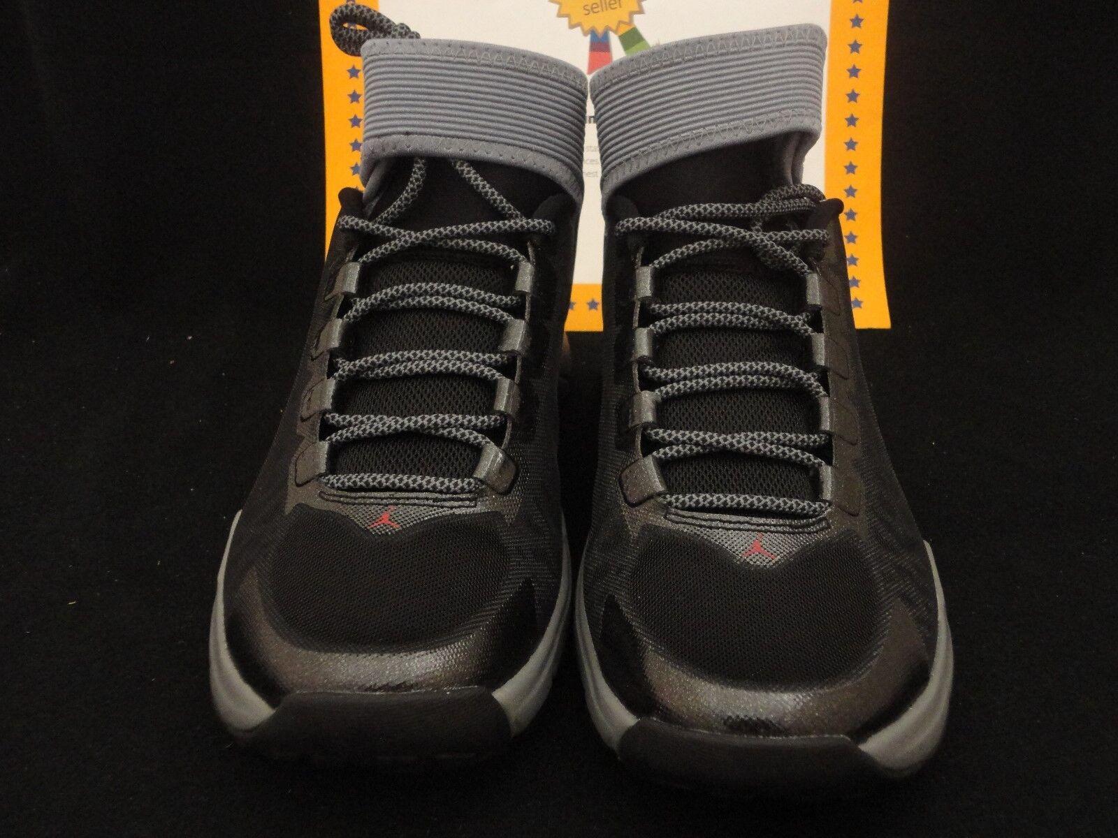 Nike Jordan Dominate Pro 2, Cool Frey     Gym Red   Black, Size 8 1c15cc