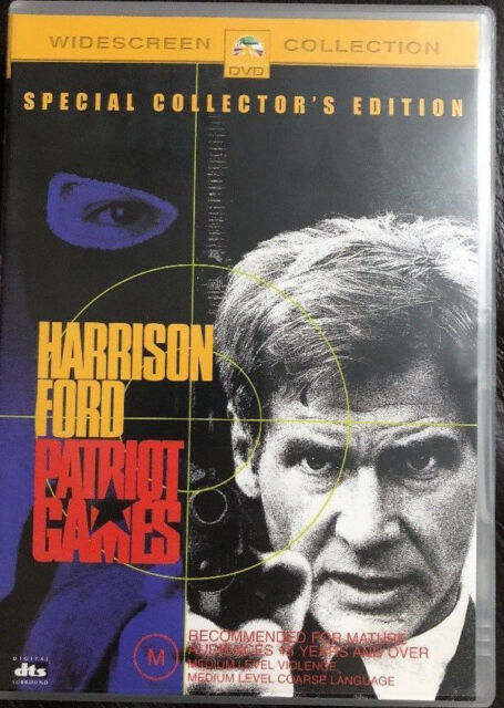 Patriot Games (DVD, 2003) BRAND NEW & SEALED