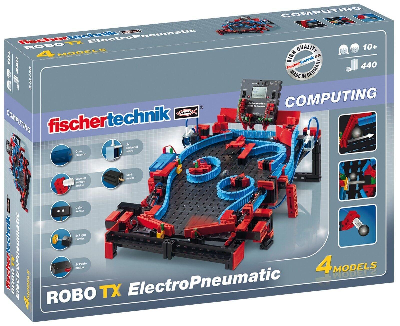nuevo  Fischertechnik 516186 robo TX electro Pneumatic  OVP