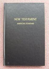 American Standard Version New Testament ~ 1901 ASV ~ HB ~ Like NEW !