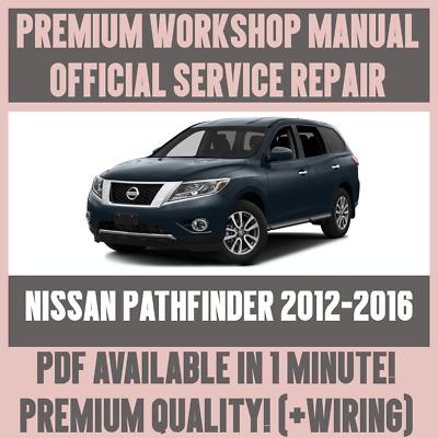 PATHFINDER SHOP MANUAL NISSAN SERVICE REPAIR HAYNES BOOK CHILTON 2005-2013