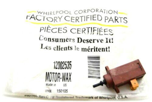 OEM Whirlpool 12002535 Wax Motor Kit WP22002119 AP4009198 PS1777057