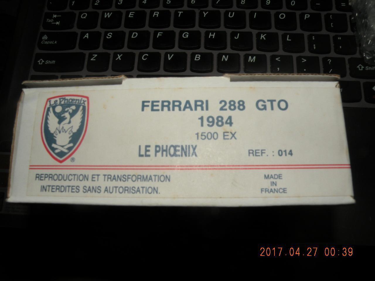 LE PHOENIX 1 43 FERRARI 288 GTO street KIT LEPHOENIX