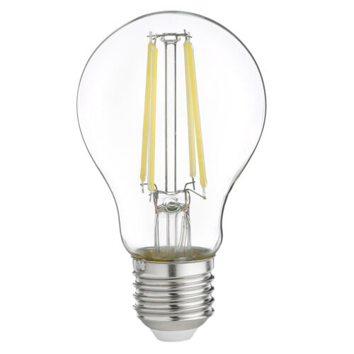 4 X 7W LED Equiv 60W Filament Light Bulbs 2700K Warm White 240V ES//E27 800 Lumen