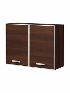 k chenschrank oberschrank h ngeschrank ola ko80g holz nussbaum 80 cm breit. Black Bedroom Furniture Sets. Home Design Ideas
