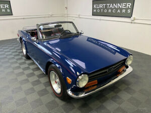 1972 Triumph TR-6 1972 TRIUMPH TR-6. SAPPHIRE BLUE.