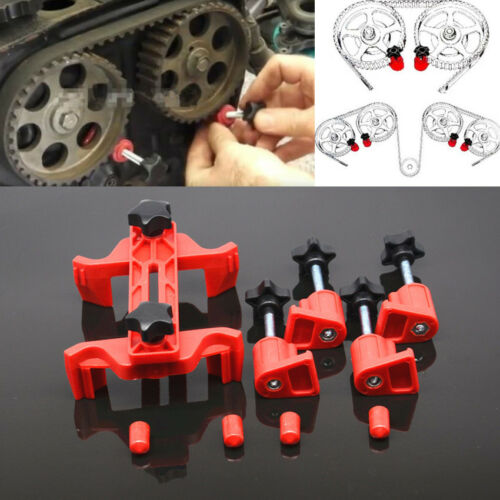 Car 5pc Single Twin Quad Dual Cam Clamp Timing Engine Gear Locking Tool Camshaft