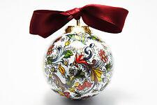 Palla di Natale in porcellana - Christmas Ball Ornaments (Made in Italy)