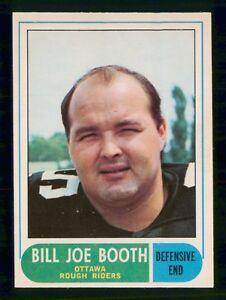 BILLY-JOE-BOOTH-1968-O-PEE-CHEE-CFL-1968-NO-22-NRMINT-16737