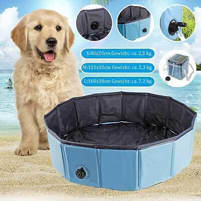 Süß GehäRtet Faltbar Hundebadewanne Doggy Pool Hundepool Badewanne Swimmingpool Wasserbecken In Vielen Stilen