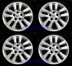 Set (4pcs) Hubcap Wheelcover fits 2013 - 2018 Nissan ...