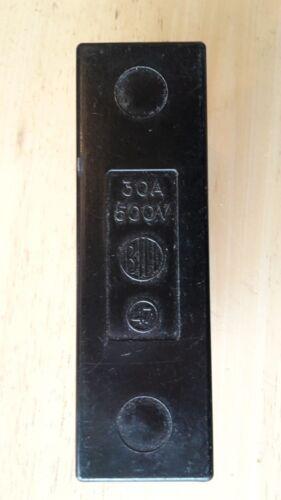 Bill No 47 30Amp HRC Fuse Carrier Number 47 30 Amp Fuse Board 500v