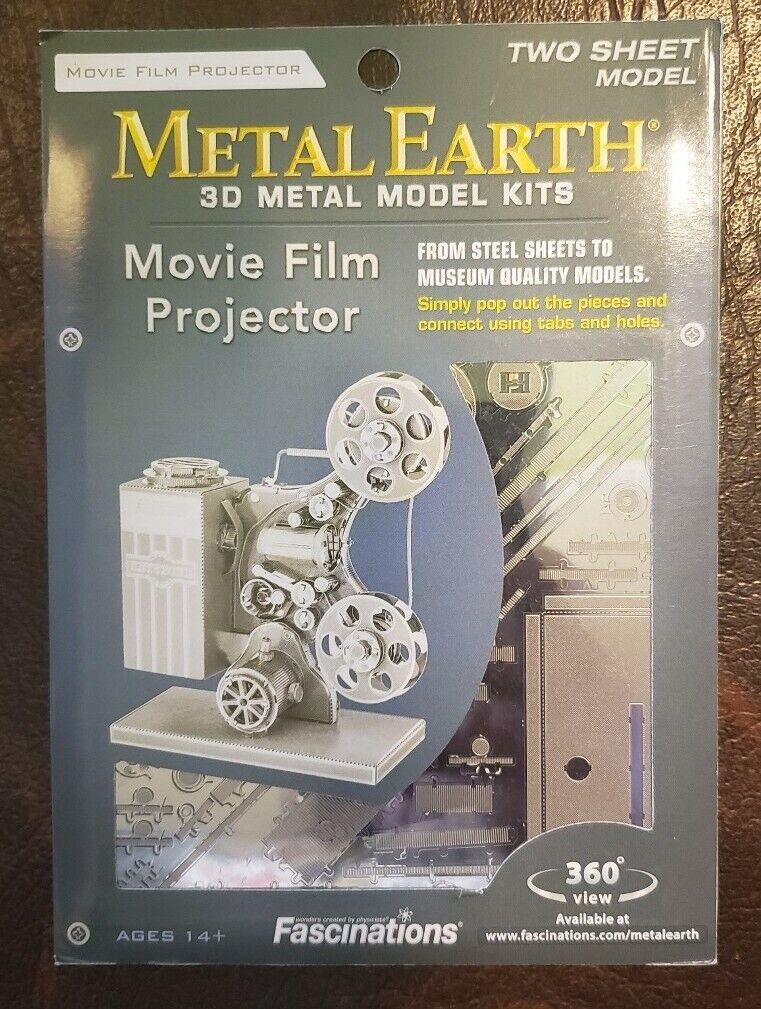 Tweezers 10886 Metal Earth Movie Film Projector 3D metal Model