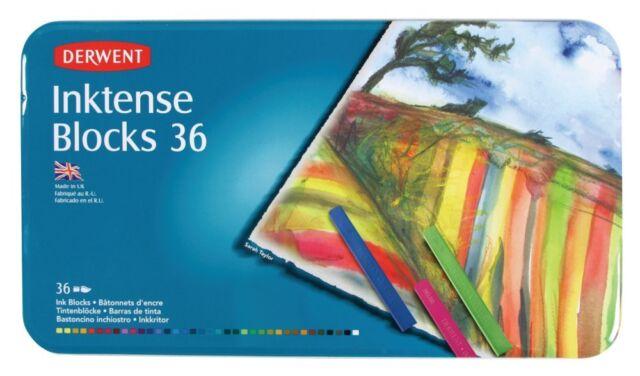 Derwent Inktense Blocks 36 Tin