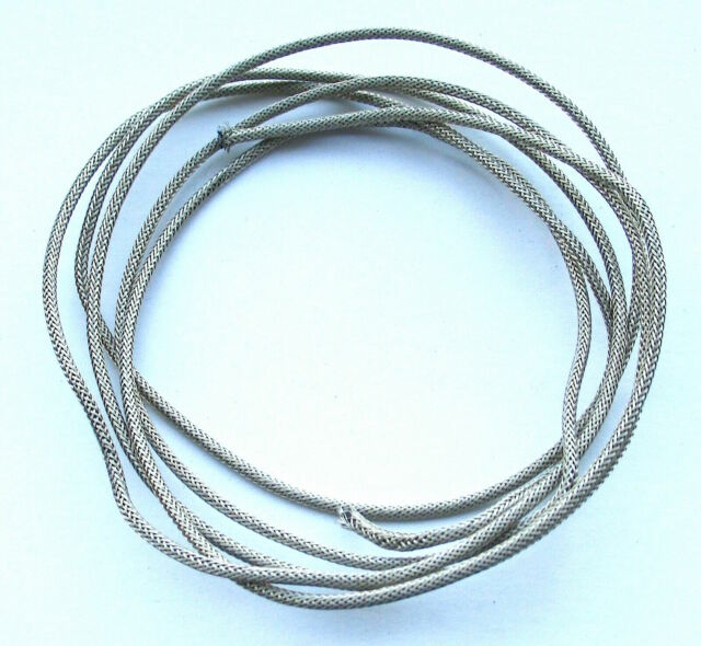 Pickup Wire Made In USA 5 Feet.Braided Shield Stranded Single Conductor Guitar